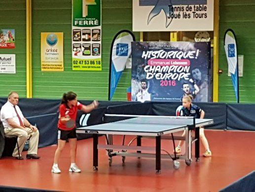 Championnats de france ben cad alexandra et victor - Championnat de france tennis de table ...